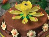 """Фото: Музыкальная свеча для торта """"Лилия"""""""