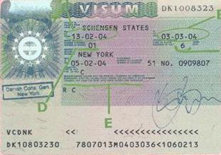 Consolato di La Spezia per un visto