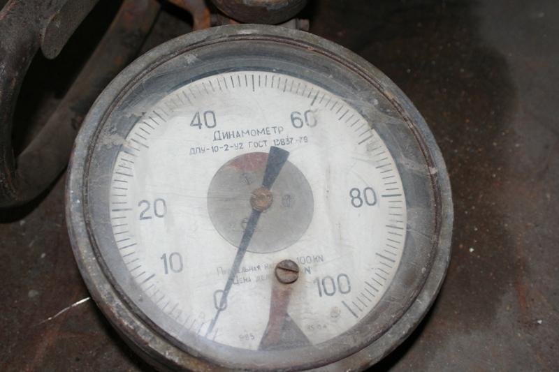 Весы крановые механические 10 тонн