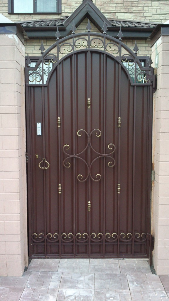 Ворота и калитки фото цены в краснодаре железные распашные ворота для дачи цены в перми