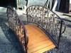 Фото: Мостик декоративный кованый