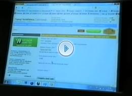 Сайтограф на конференции Сеть и Бизнес-2011